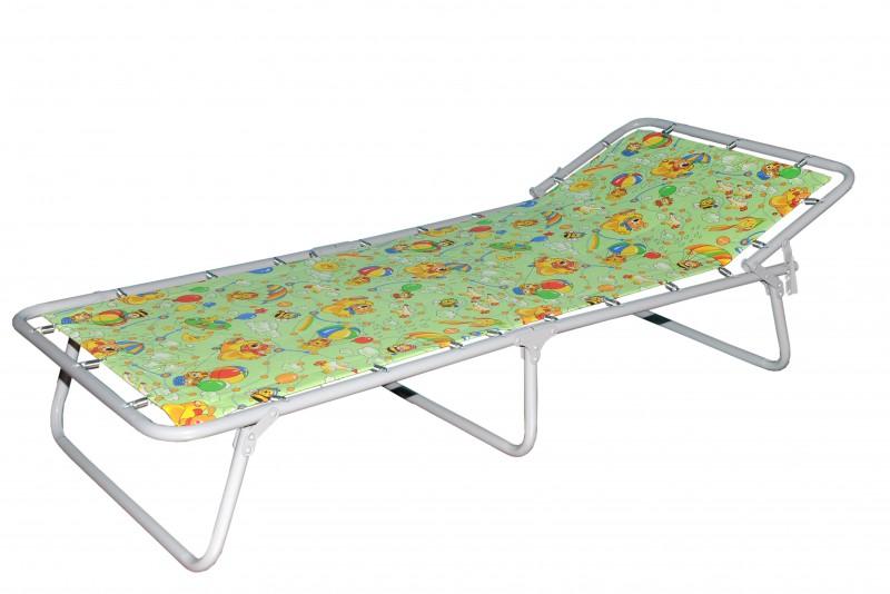 Кровать расклад. Малая жесткая цветная Дрема-М3 (КРМ 196) (60кг.)