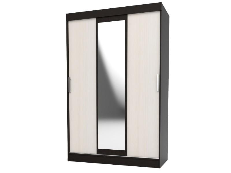 Набор мебели для спальни ЭДМ 5 Шкаф-купе Дуб Венге/Дуб млечный